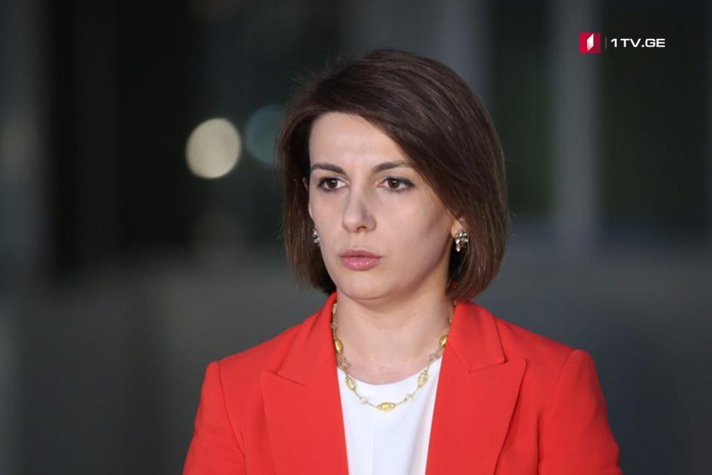 Georgian Delegation headed by Tamar Chugoshvili will visit U.S.