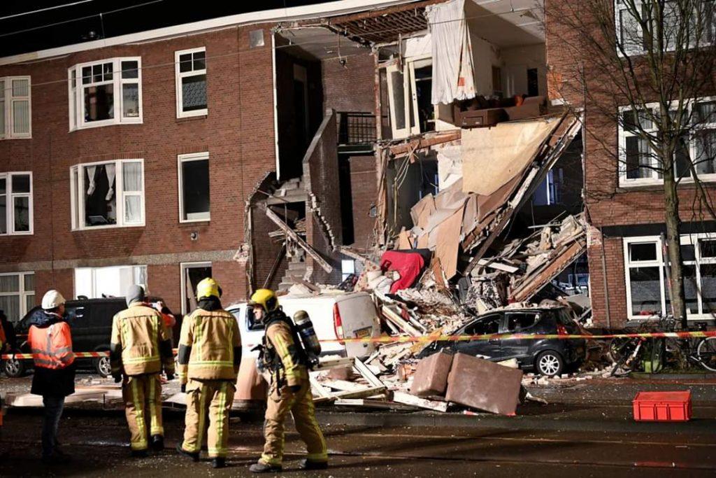 ჰააგაში აფეთქების შედეგად ცხრა ადამიანი დაშავდა
