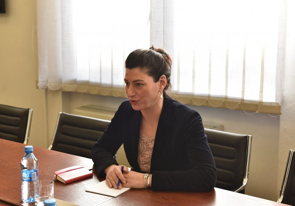 Sophio Katsarava met with NATO Liaison Georgia Office Director