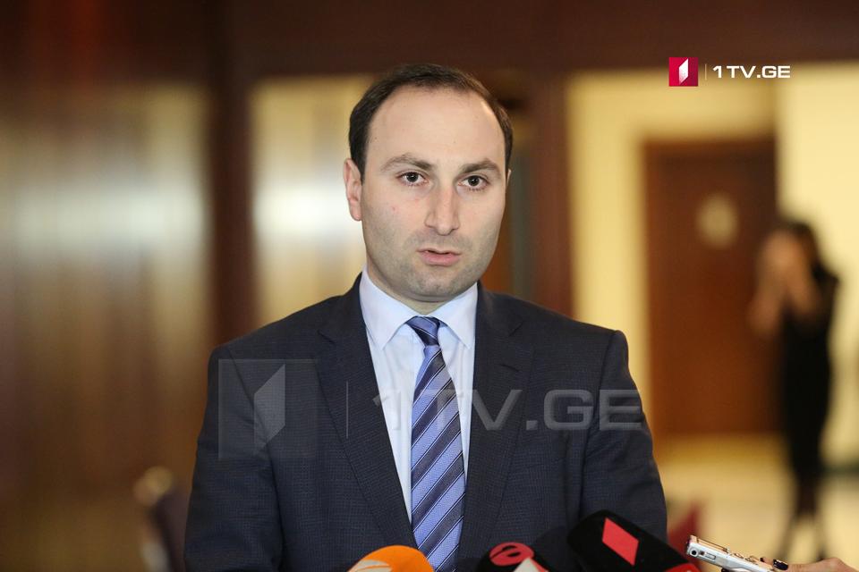 Парламентское большинство официально представило кандидатуру Анри Оханашвили на должность председателя комитета по юридическим вопросам
