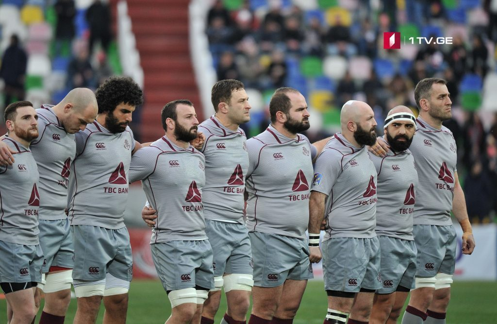 First Channel will air all five matches of Georgian National Rugby Team