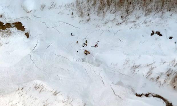 В итальянских Альпах трое лыжников погибли в результате схода лавины