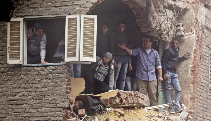 ქალაქ ლუქსორში ავარიული შენობის ჩამონგრევას სამი ადამიანი ემსხვერპლა