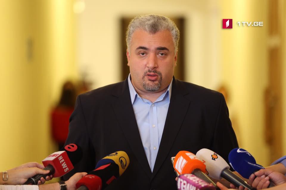 Серги Капанадзе заявляет, что «Европейская Грузия» будет поддерживать создание следственной комиссии по делу Мачаликашвили