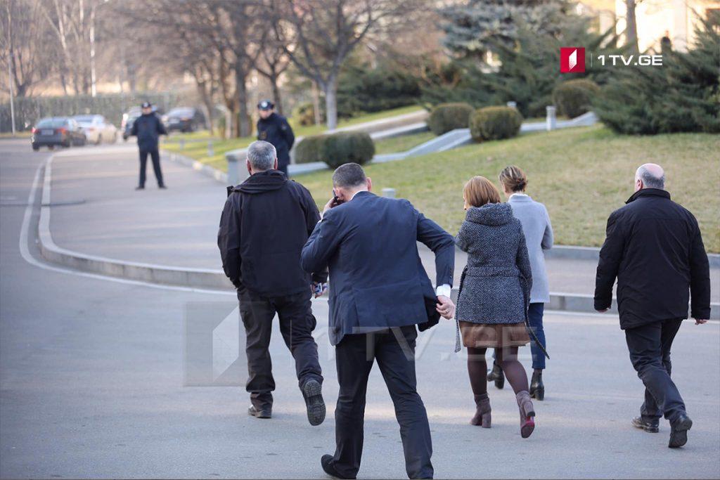 Заза Саралидзе находится на встрече в Генеральной прокуратуре