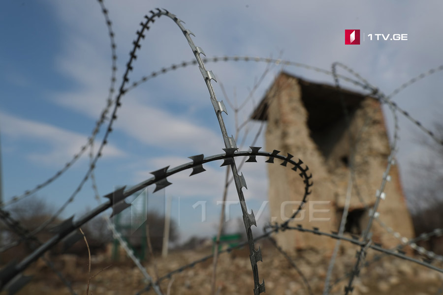 По существующей информации, у села Хурвалети появились российские военные, движение в сторону села ограничено