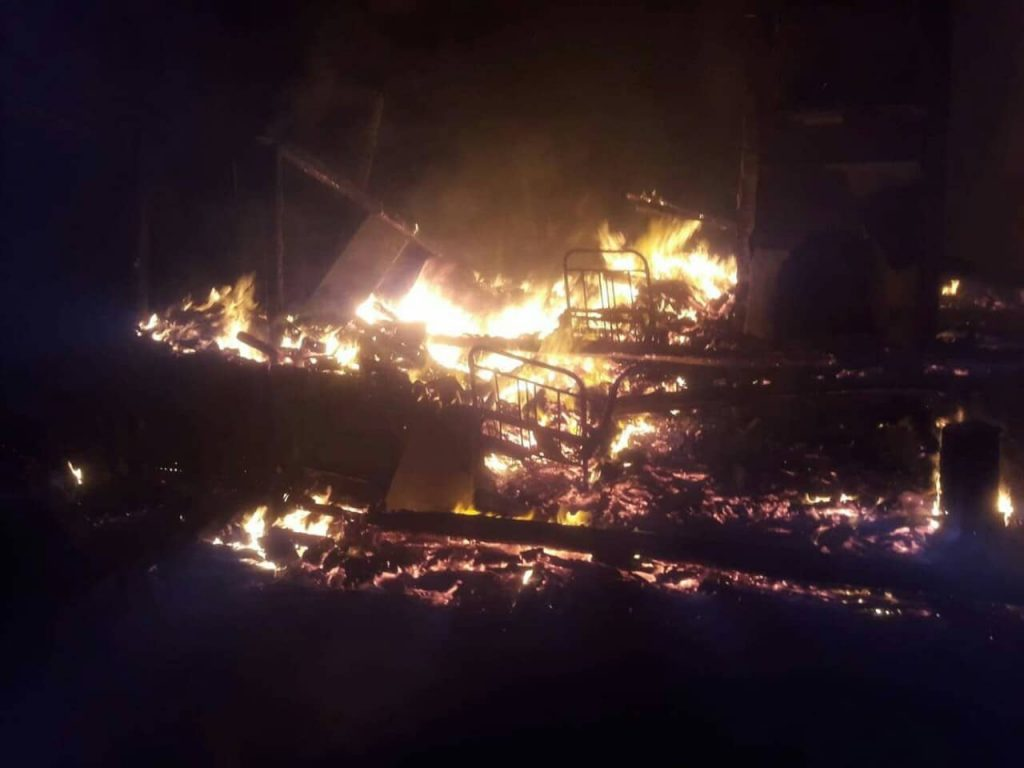 94-year-old man dies in fire in Tsalenjikha