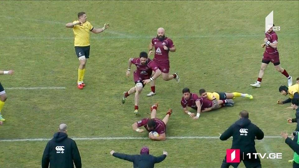 Georgia beats Romania in Rugby Europe Championship