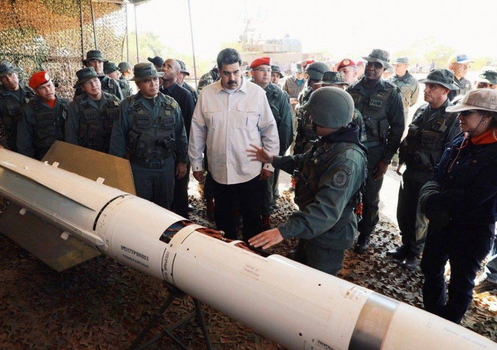 ვენესუელის ხელისუფლებამ  მასშტაბური სამხედრო წვრთნები დაიწყო