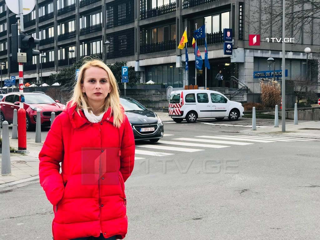 Belgian Police questioned First Channel journalist Lika Alelishvili in connection with Liege incident
