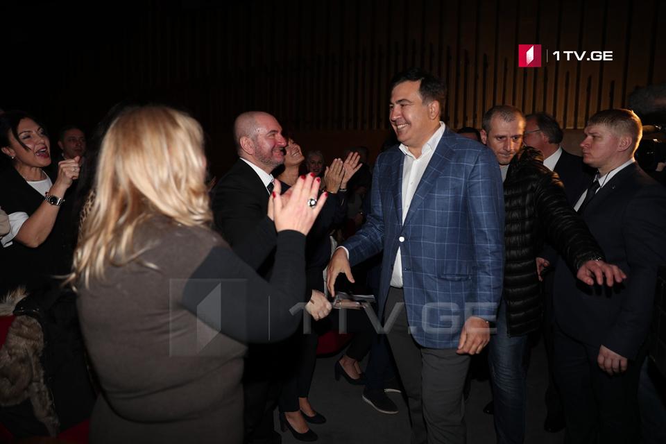 Михаил Саакашвили - 3 марта в Италии мы хотим провести собрание, мы сдадим в наручниках полиции всех, кто попытается создать нам проблемы