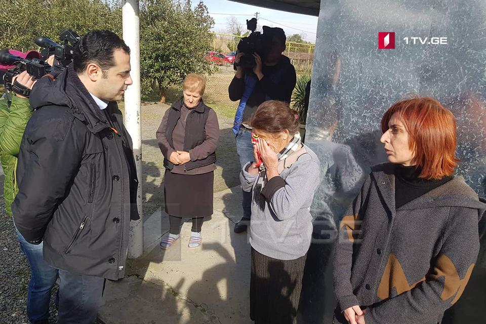 Александр Моцерелия посетил в Ганмухури семьи похищенных вблизи оккупационной линии граждан