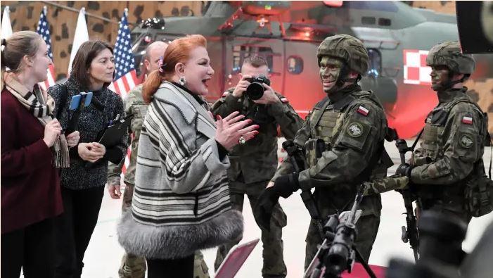ABŞ Polşada hərbiçilərinin sayının artırılmasını planlaşdırır