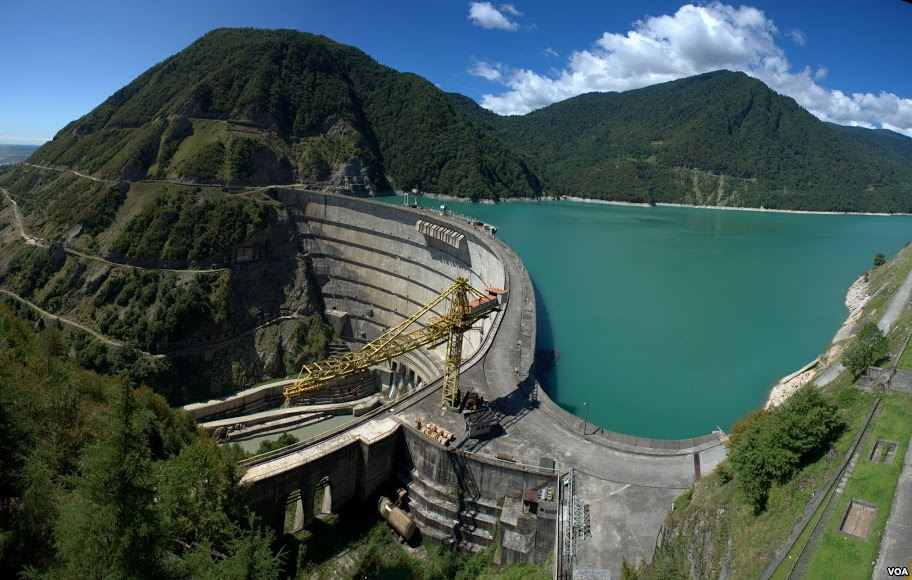 Enguri hydro-electric power station at threat to stop functioning
