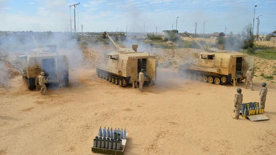 ეგვიპტეში, სინაის ჩრდილოეთ ნაწილში შეტაკებებისას 15 სამხედრო დაიღუპა