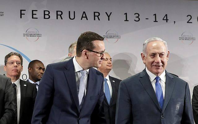 ჰოლოკოსტთან დაკავშირებით ბენიამინ ნეთანიაჰუს კომენტარის გამო, პოლონეთის პრემიერი ისრაელში აღარ გაემგზავრება