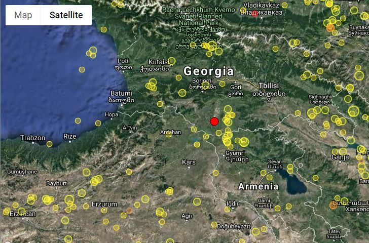 3.3-magnitude earthquake occurs in Georgia