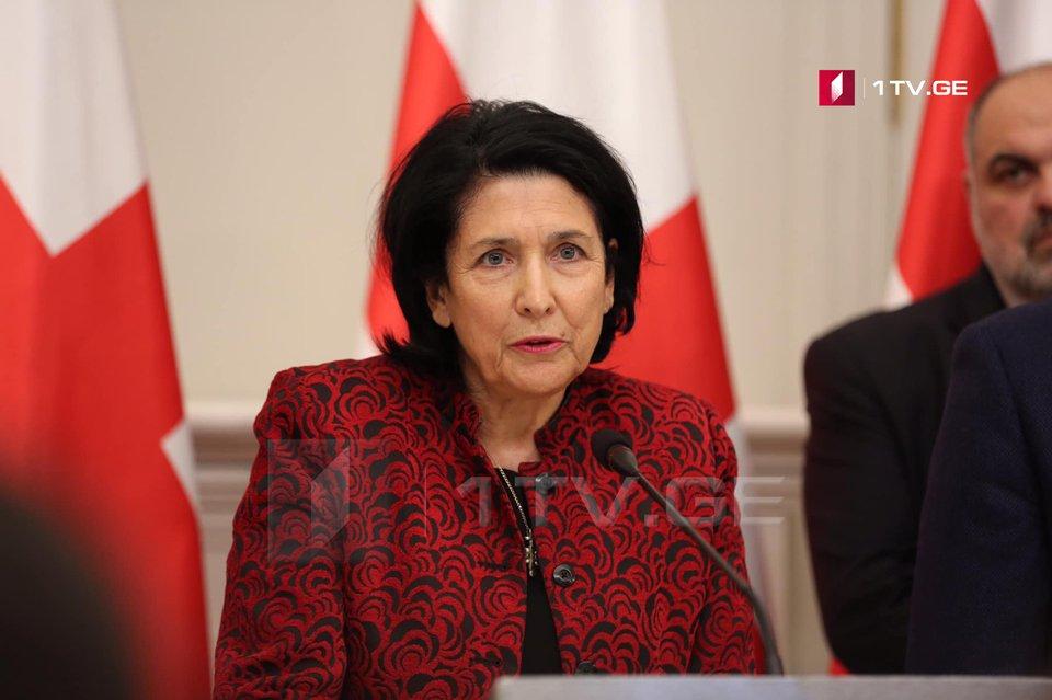Саломе Зурабишвили - Франция постоянно повторяет, что признает нашу суверенность и территориальную целостность