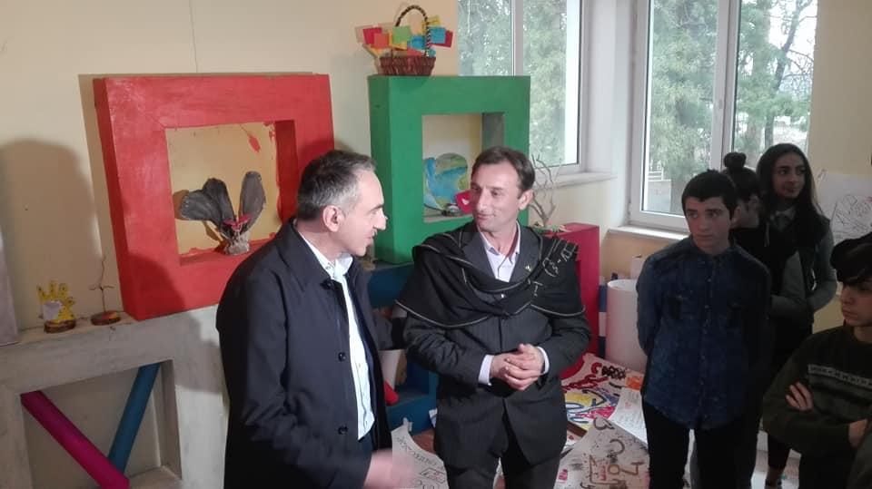 Ладо Апхазава присвоен статус педагога-ментора