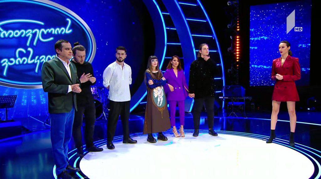 Nini Tsnobiladze dropped out of the race in the semi-final of Georgian Idol