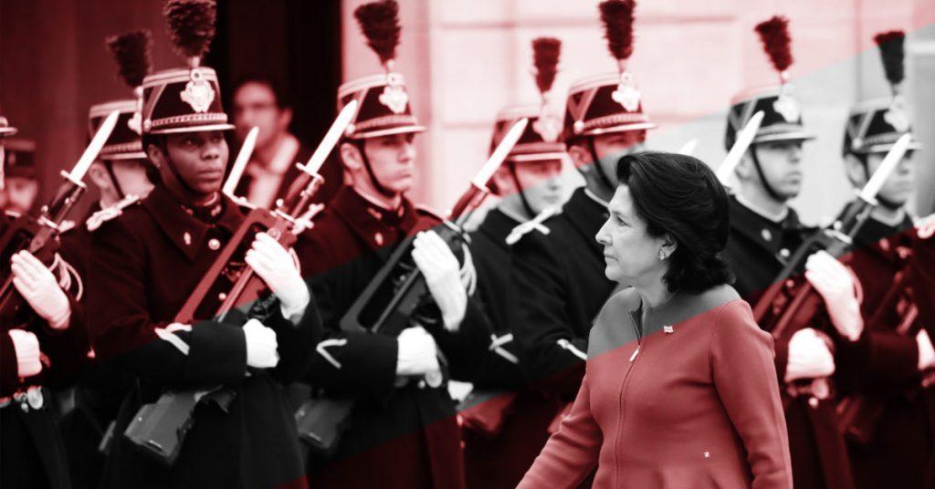 Salome Zurabişvili - heç kim düşünə bilməz ki, bu gün Putinlə nəsə effektli ola bilər