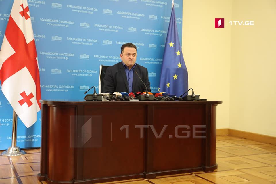 Gedevan Popkhadze quits the ruling Georgian Dream Party
