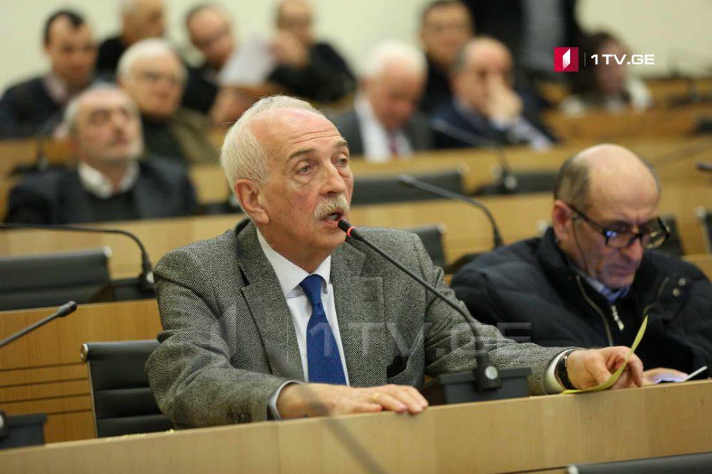 Депутат Гия Жоржолиани и некоторые члены его фракции планируют покинуть парламентское большинство