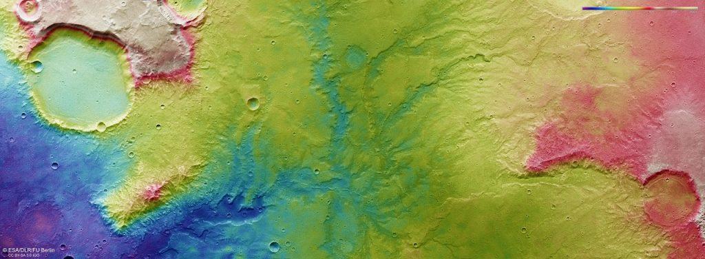 ვრცელი მდინარეების კვალი, რომლებიც შორეულ წარსულში მარსზე მიედინებოდა - ახალი ფოტოები