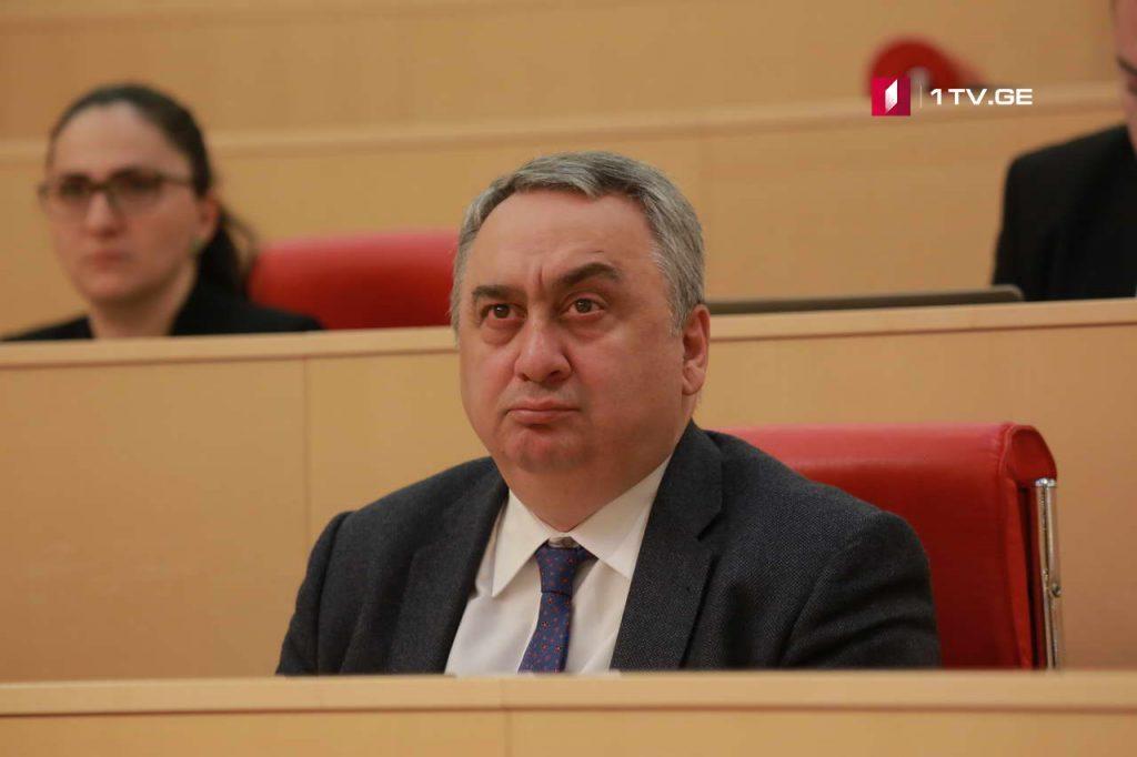 Звиад Квачантирадзе покинул парламентское большинство