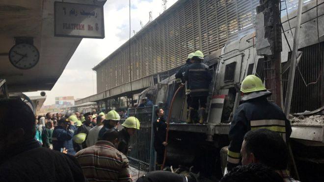 ეგვიპტეში, რკინიგზის სადგურზე ხანძარს 12 ადამიანი ემსხვერპლა