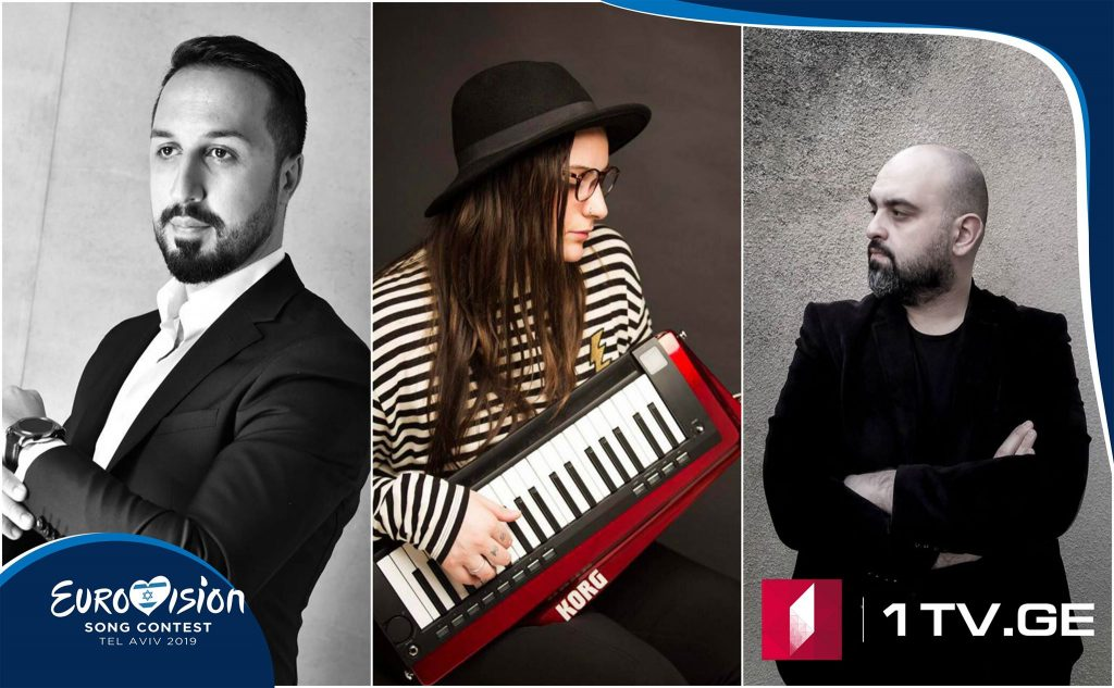 """Winner composers of competition for selection of 2019 ESC Georgian entry song in """"Midday"""""""