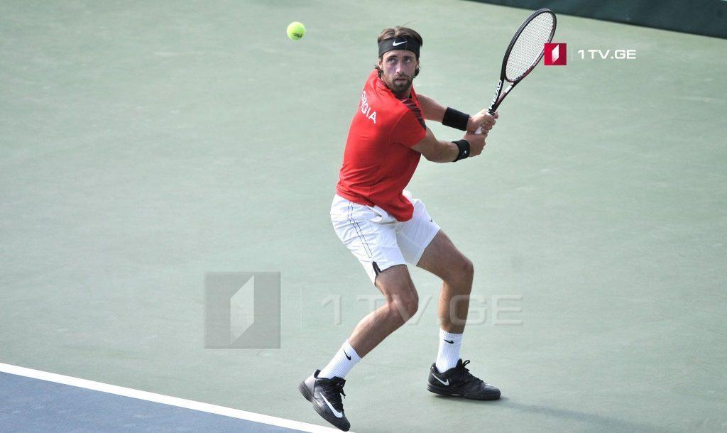 Nikoloz Basilaşvili qələbə qazandı - tennisçi Dubai Turnirinin dörddəbir finaladadır