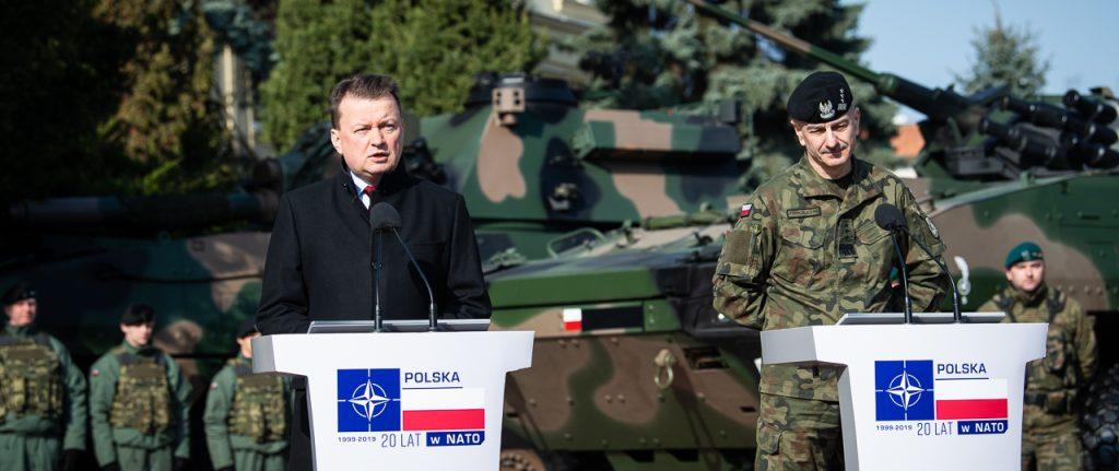 პოლონეთის ხელისუფლება ჯარის მოდერნიზებაზე 2026 წლამდე დაახლოებით 50 მილიარდი დოლარის დახარჯვას გეგმავს