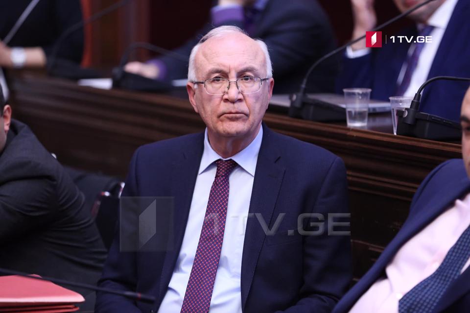Зураб Абашидзе - Надеюсь, что на встрече в Женеве мы получим ответ, когда будет решен вопрос Важи Гаприндашвили
