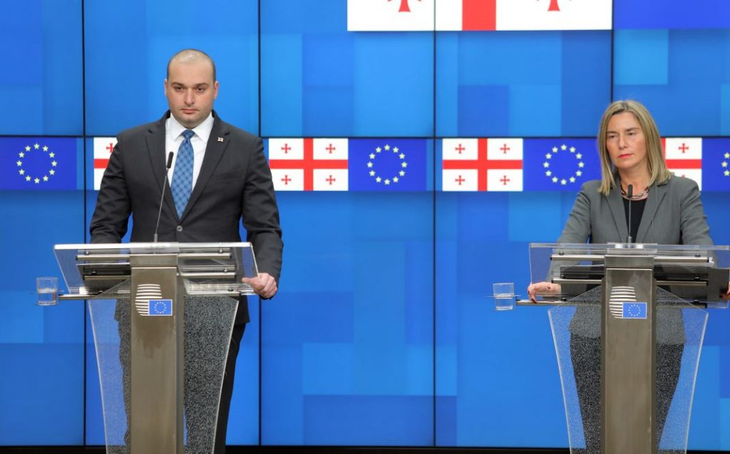 Федерика Могерини - Грузия достигла большого прогресса в осуществлении соглашения об ассоциации, что является основой нашей интеграции