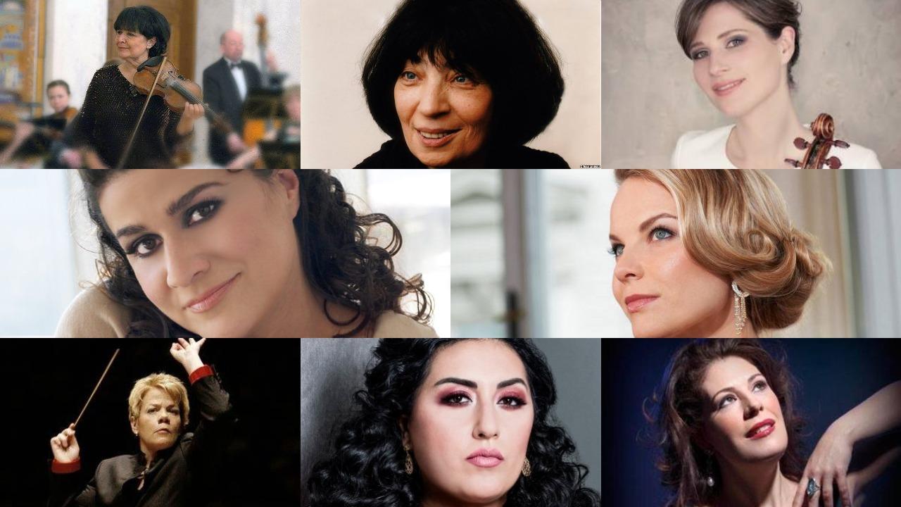 კლასიკა ყველასთვის - გამოჩენილი ქალბატონი მუსიკოსები