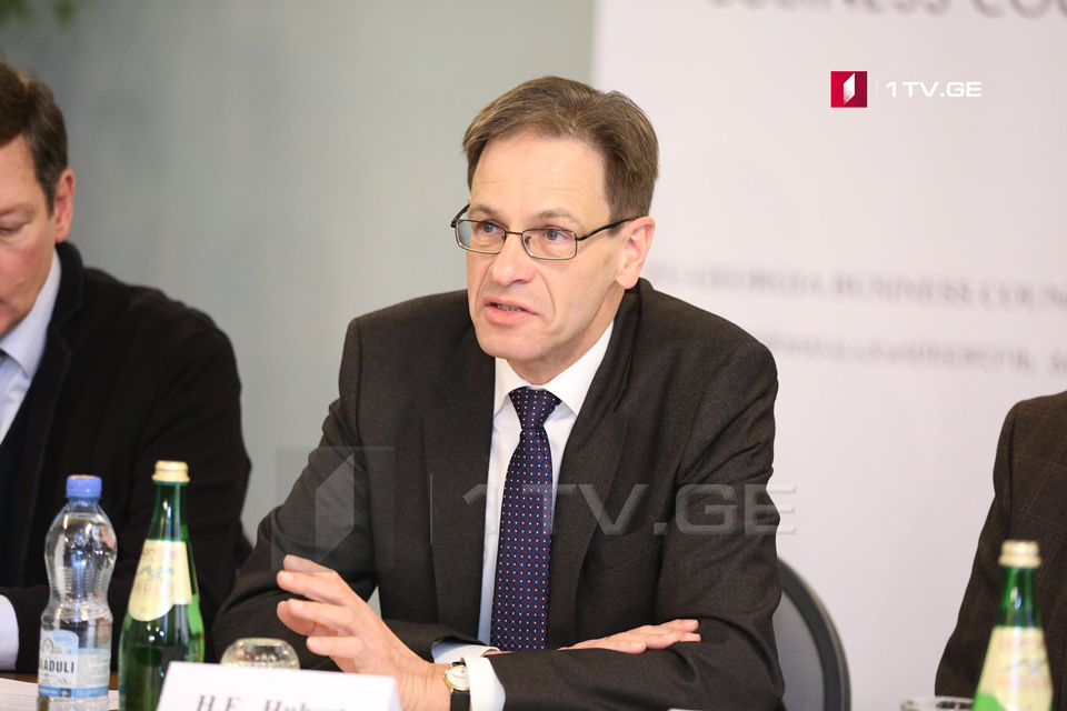 German Ambassador – I don't see any kind of pressure on business environment in Georgia