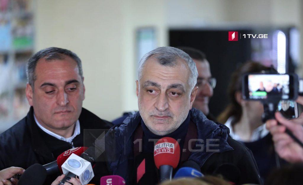 """По информации """"Рустави 2"""", письмо Мамуке Хазарадзе передал один из основателей """"Ти-Би-Си Банка"""" Бадри Джапаридзе"""