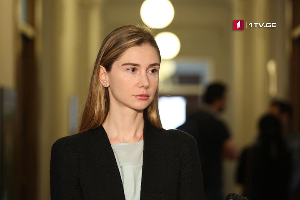 Тина Бокучава - «Грузинская мечта» не ждет заключения Венецианской комиссии, что указывает на то, что ее ничего не интересует