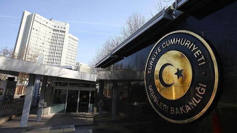ანკარაში ბელგიის ელჩი თურქეთის საგარეო საქმეთა სამინისტროში დაიბარეს