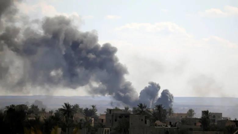 Suriyədə Bağuz kəndinin bombalanması zamanı 38 cihadist həlak oldu