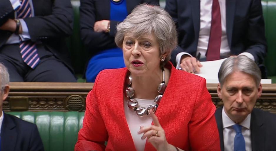 """დიდი ბრიტანეთის პარლამენტმა """"ბრექსითის"""" შეთანხმება არ დაამტკიცა"""