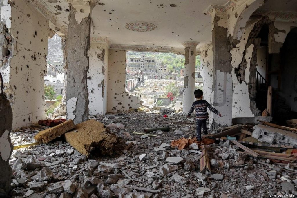 იემენში ავიაიერიშის შედეგად 22 მშვიდობიანი მოქალაქე დაიღუპა