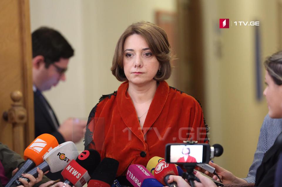 Саломе Самадашвили - Венецианская комиссия написала двойку властям и прямо сказала, что власть пытается взять под контроль судебную систему