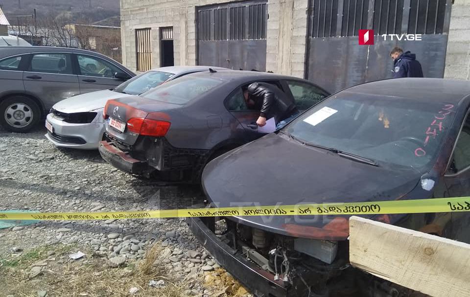 გორში, სადგურის დასახლებაში ხუთი ავტომობილი გაძარცვეს