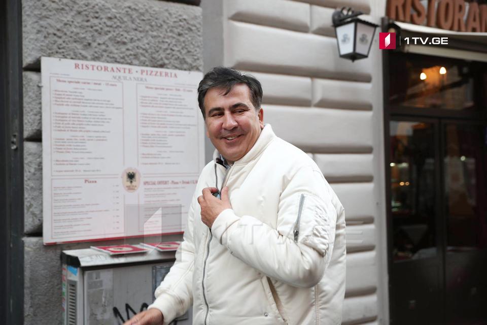 Михаил Саакашвили - В российском фильме меня должен был играть Николас Кейдж, но он отказался представить меня полностью сумасшедшим