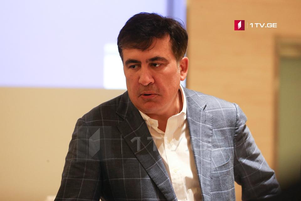 Михаил Саакашвили - Порошенко сказал мне, ты же смирился с тем, что Грузия никогда не вернет в свой состав Абхазию и Цхинвали, мы тоже должны смириться с потерей Крыма