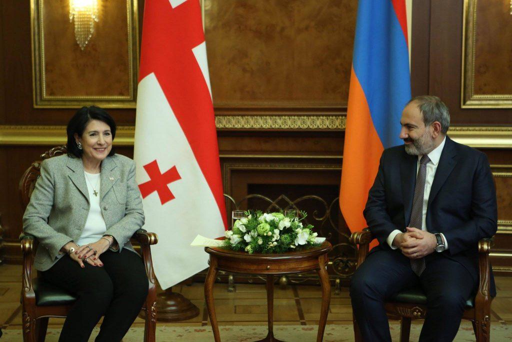 Саломе Зурабишвили поставила вопрос о возобновлении соглашения о сотрудничестве между Грузией и Арменией в сфере культуры