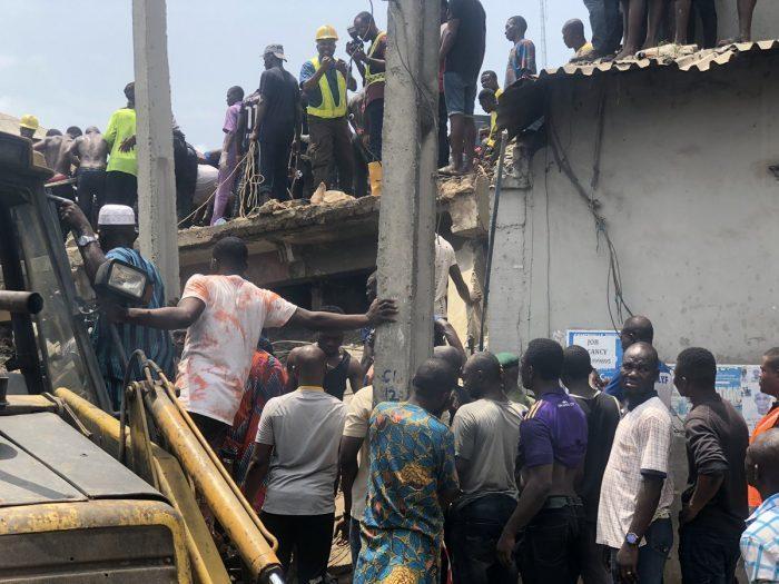 ნიგერიაში შენობის ჩამონგრევის შედეგად ბოლო მონაცემებით, რვა ადამიანი დაიღუპა