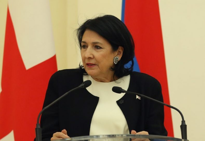 Salome Zurabishvili: Sadly, when delegations from Nagorno-Karabakh arrive in Abkhazia and 'South Ossetia' and raise the issue as if these are the same type of conflicts